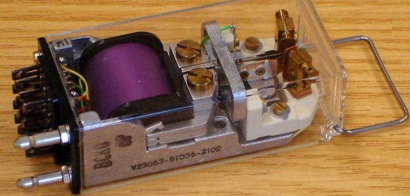 Нейтральное электромагнитное реле постоянного тока
