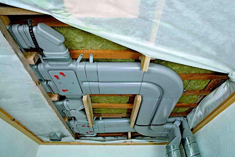 Все типы вытяжных конструкций являются канальными, так как нуждаются в воздуховодах