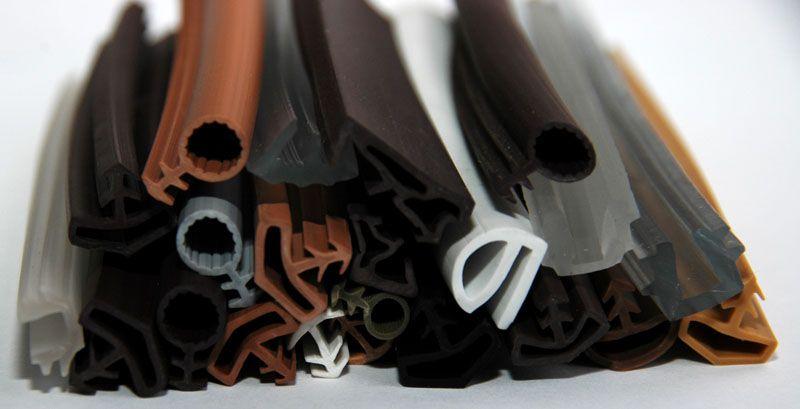 Многообразие форм, цвета и материала уплотнителей