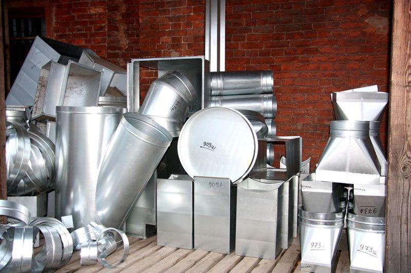 Ассортимент металлических изделий позволяет подобрать воздуховод под ваши условия