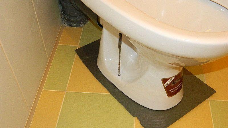 Кафельный под для унитаза