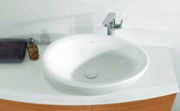 Раковина для ванной накладная на столешницу