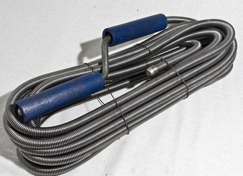 купить сантехнический трос для прочистки канализационных труб