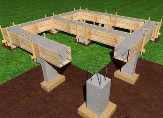 Виды фундаментов для частного дома