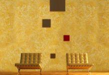 Декоративная штукатурка: фото в интерьере