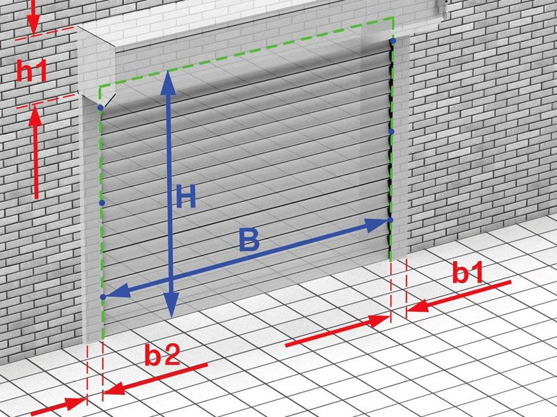 Размеры дверного проёма заслуживают отдельного внимания