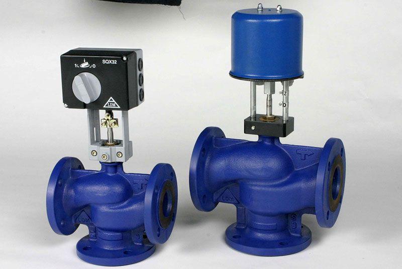 Регулирующие устройства позволяют увеличить температуру теплоносителя