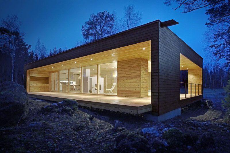 Каркасные строения могут иметь нестандартную конфигурацию