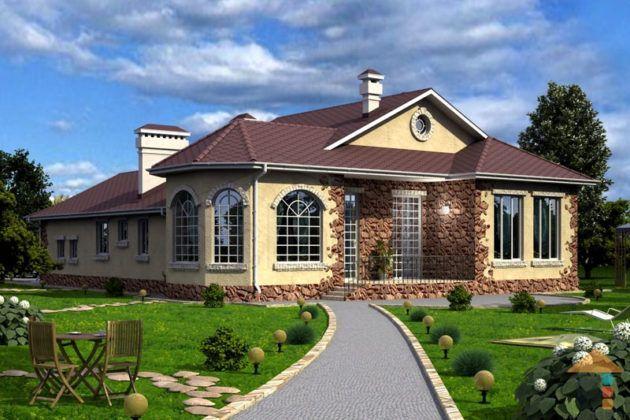 Какой построить дом, или почему популярны проекты одноэтажных домов до 100 кв. м