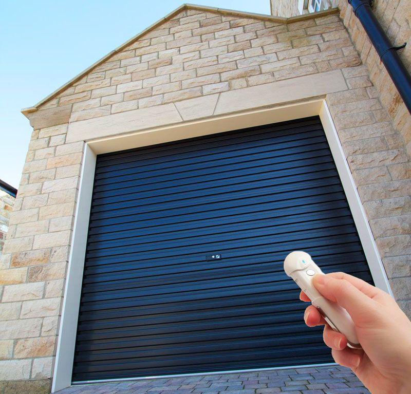 Дистанционное управление облегчает эксплуатацию гаражных ворот