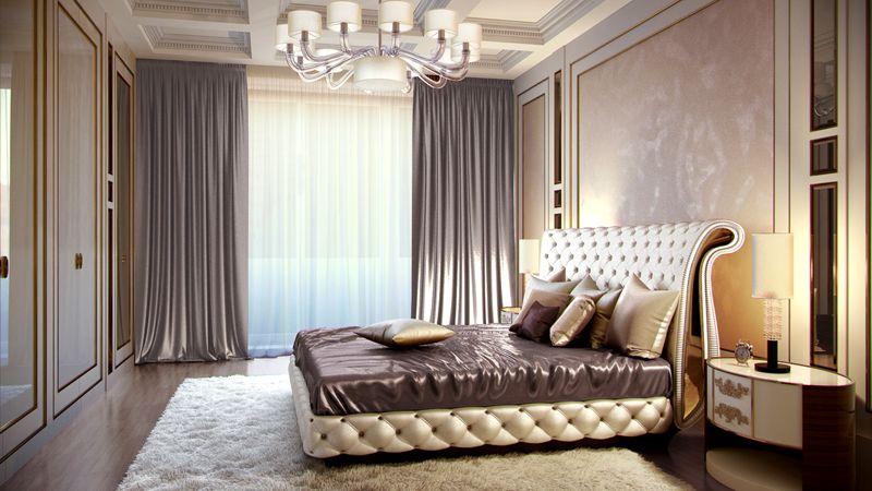 В спальне все должно располагать к комфортному отдыху