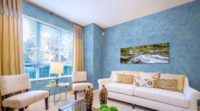 Разрабатываем дизайн квартиры: фото декоративной штукатурки в интерьере