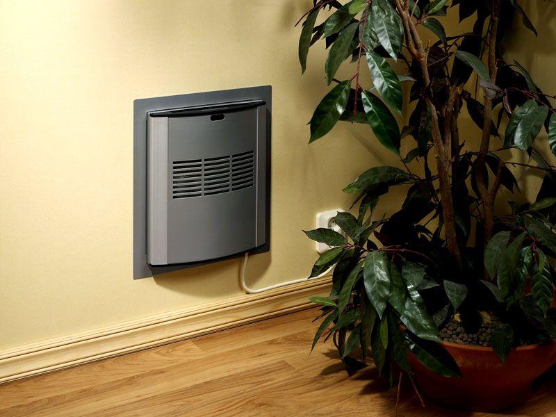 Приточно-вытяжная система с кондиционером в интерьере комнаты