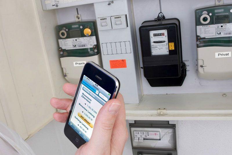 Системой передачи данных и электронным счётчиком можно теперь управлять удалённо