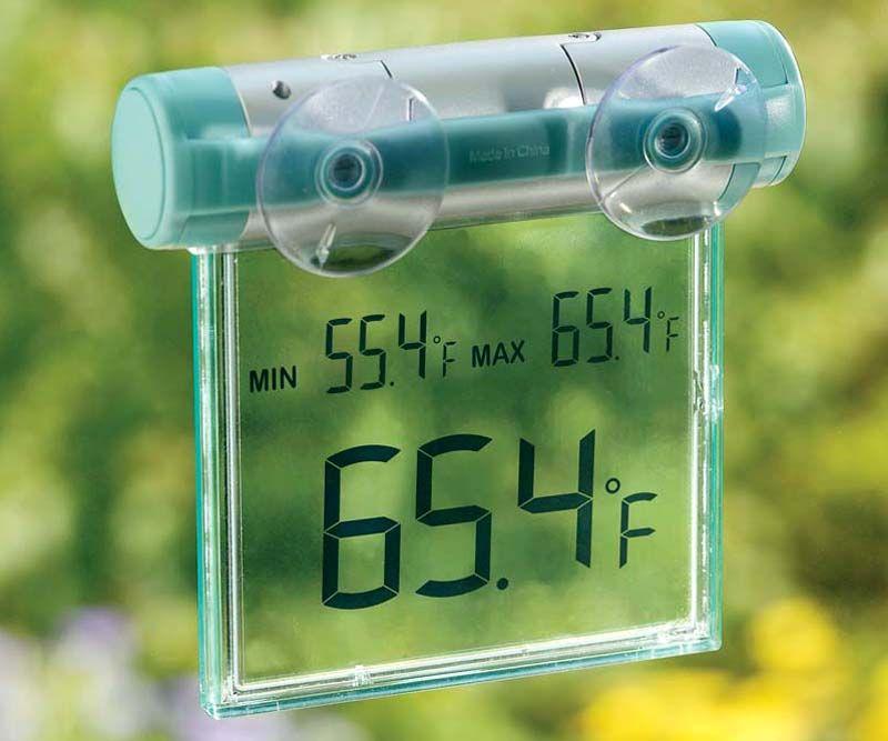 Размещение измерителя на окне
