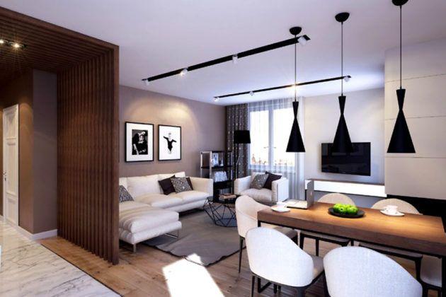Каждый вид светильника выполняет свою функцию, как и разные зоны в квартире