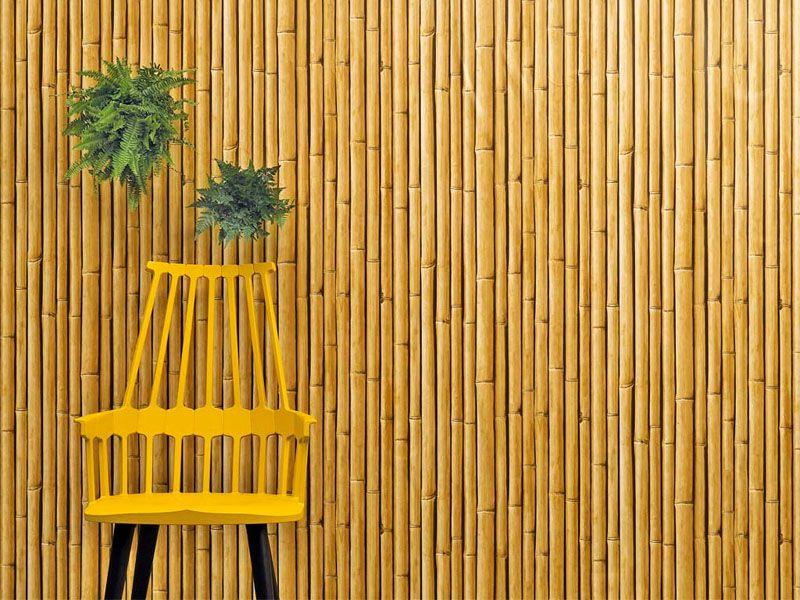 Отделка комнаты отдыха бамбуком