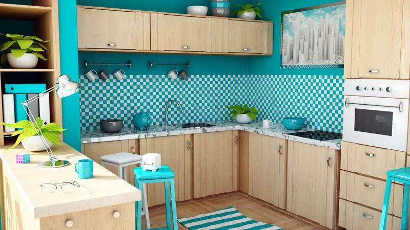 Обои для кухни: фото современных идей 2017-2018