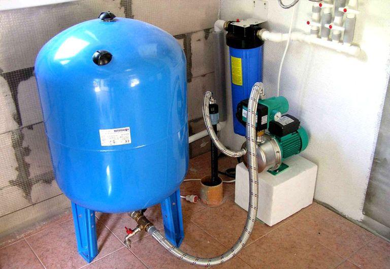 Насос для водопровода своими руками 104
