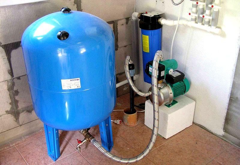 Гидроаккумулятор на 100 л в доме