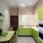 Обои для кухни: современные идеи и фото дизайна 2017–2018 гг.