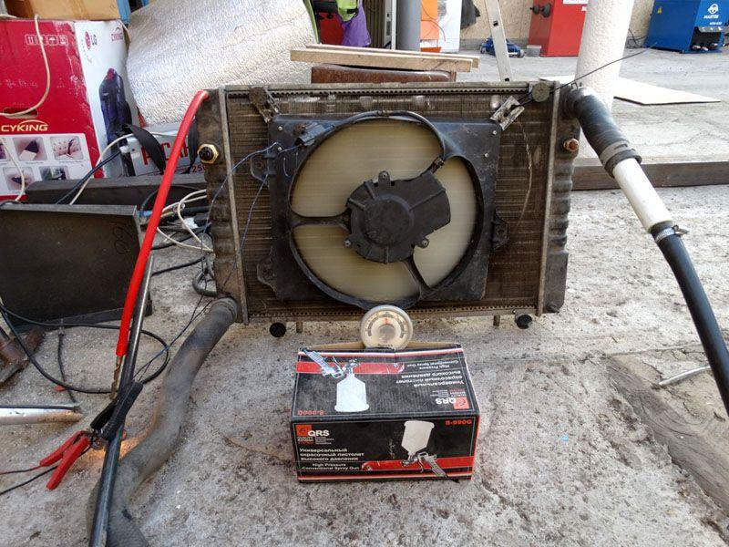 Автомобильный радиатор в качестве источника тепловой энергии