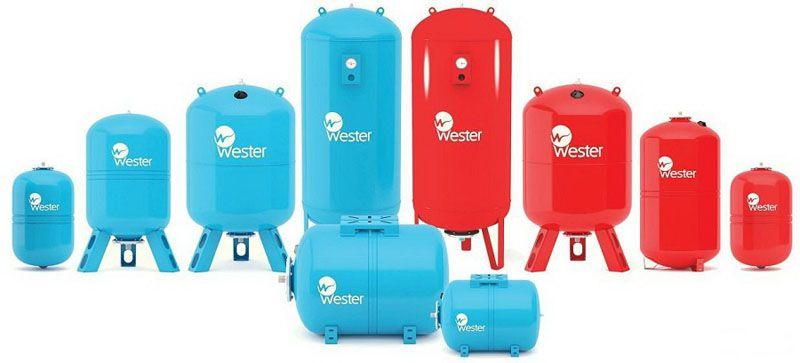 Гидроаккумуляторы от компании Western