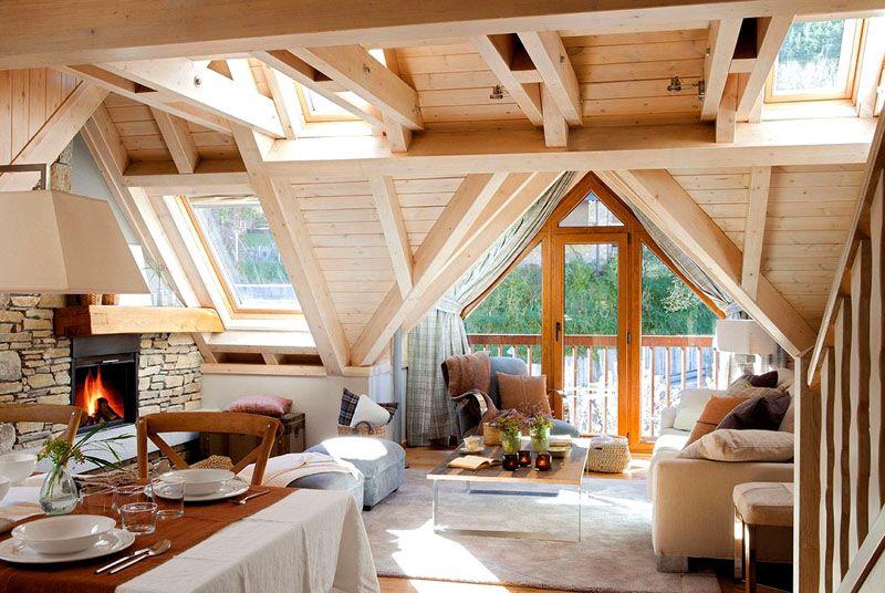 Учитывая жилой характер этого помещения, следует позаботиться об отоплении и вентиляции в мансарде, а также о наличии естественных источников освещения