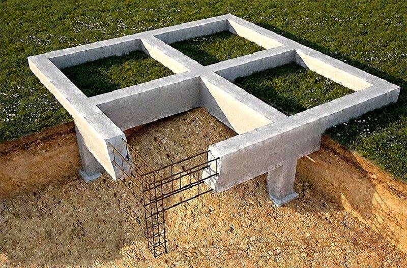 Такие конструкции рассчитаны на небольшие и средние нагрузки