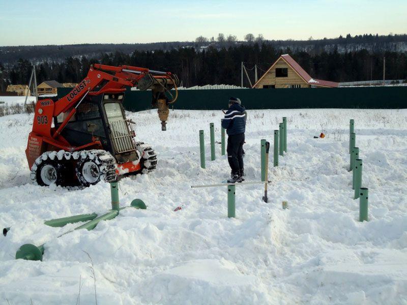 Для ускорения монтажных процессов и выполнения тяжелых работ зимой применяют средства «малой механизации»