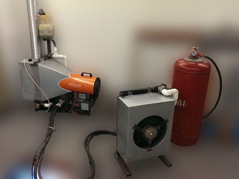 Газовое отопление с помощью баллонов