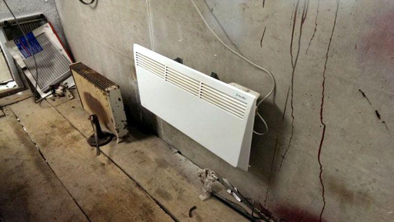 Электрический конвектор – просто, эффективно, но дорого