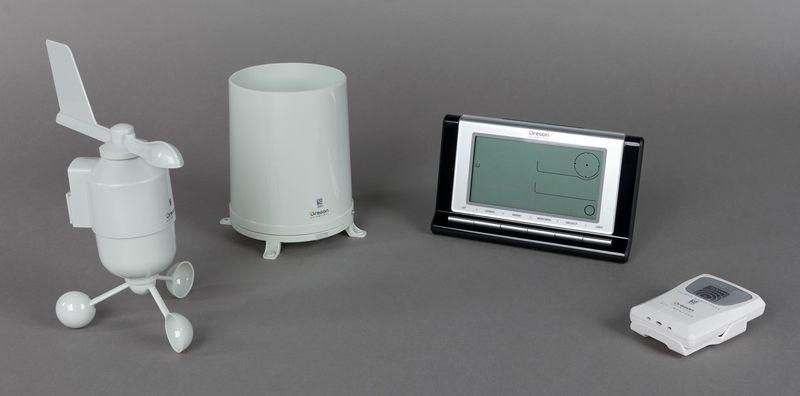 Основные устройства домашней метеостанции Oregon Scientific WMR89