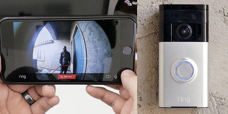 Видеоглазок, передающий сигналы через интернет на смартфон