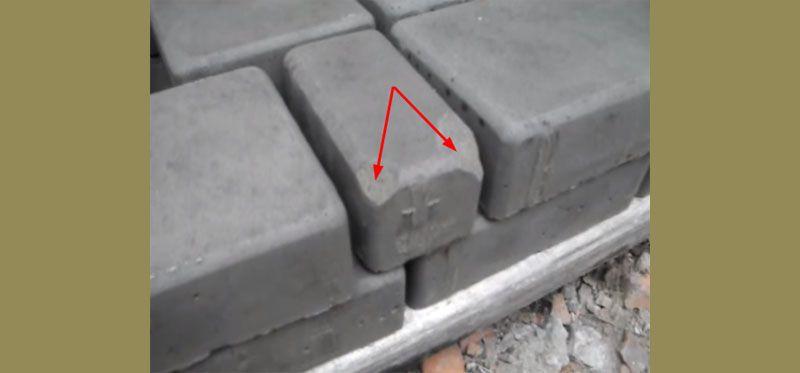 На поверхности не должно быть дефектов