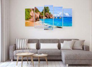 Как правильно повесить модульную картину на стену
