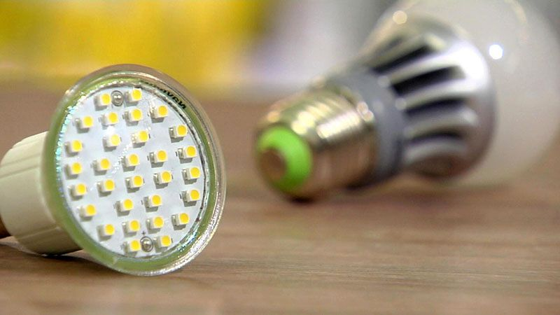 Перегоревшую лампу можно отремонтировать