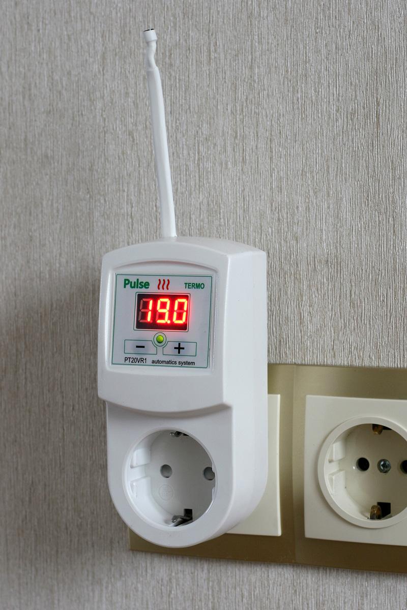 Терморегулятор предотвратит чрезмерный нагрев обогревателя