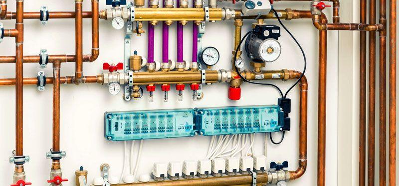 Циркуляционный насос обеспечивает стабильную скорость движения теплоносителя