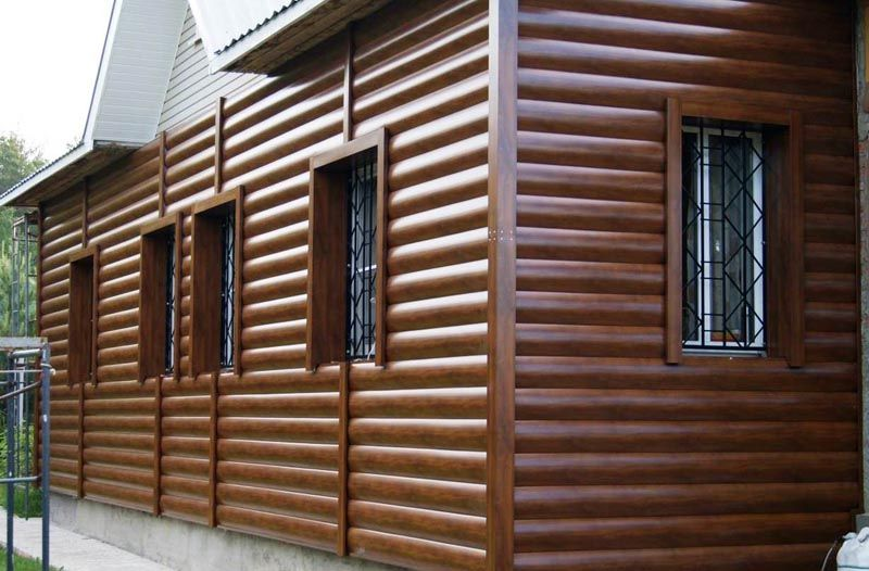 Металлический сайдинг – альтернатива натуральной древесине