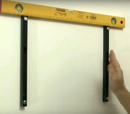 Выполняем крепление для телевизора на стену надёжно и удобно