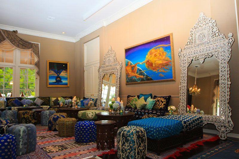 Марокканский стиль в интерьере загородного дома
