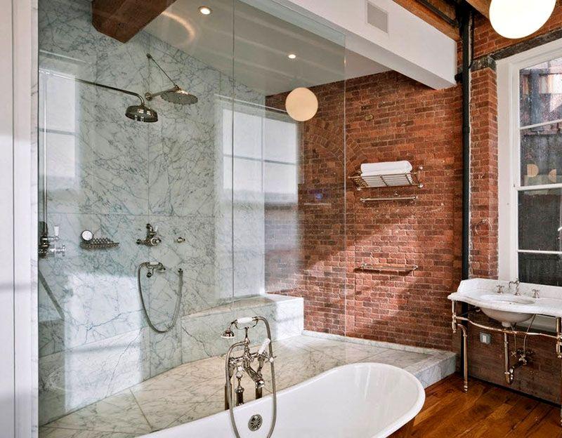 Ванна и душевая кабина – практичное решение
