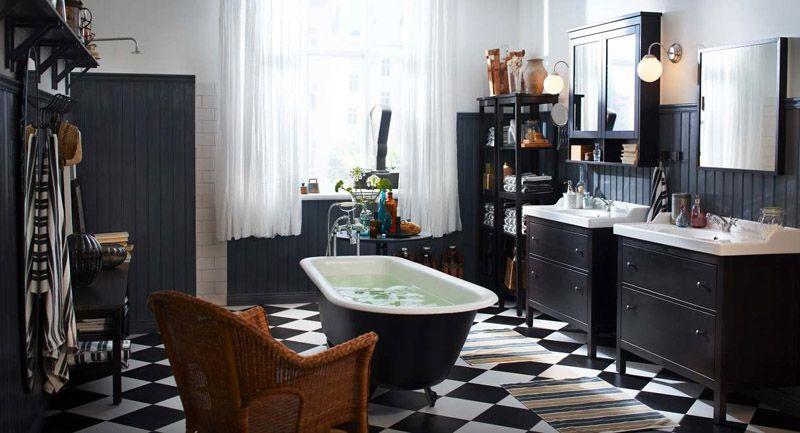 Ретро или винтажный стиль в ванной комнате
