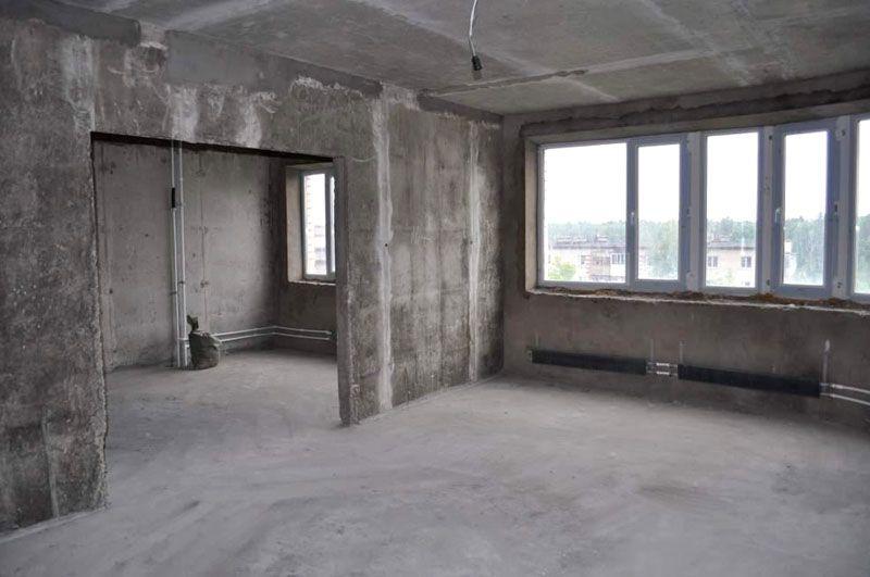 Фото квартиры без отделки
