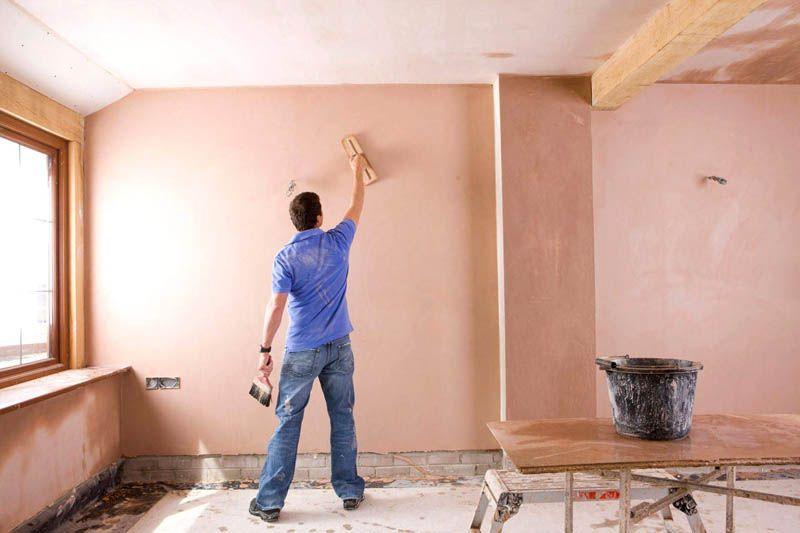 Чистовая отделка стен при помощи шпатлёвки