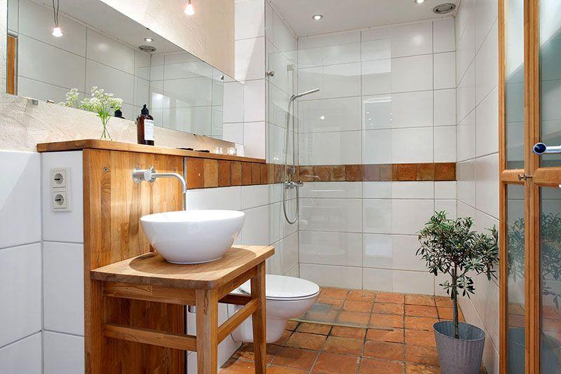 Фото планировки ванной комнаты, совмещённой с туалетом