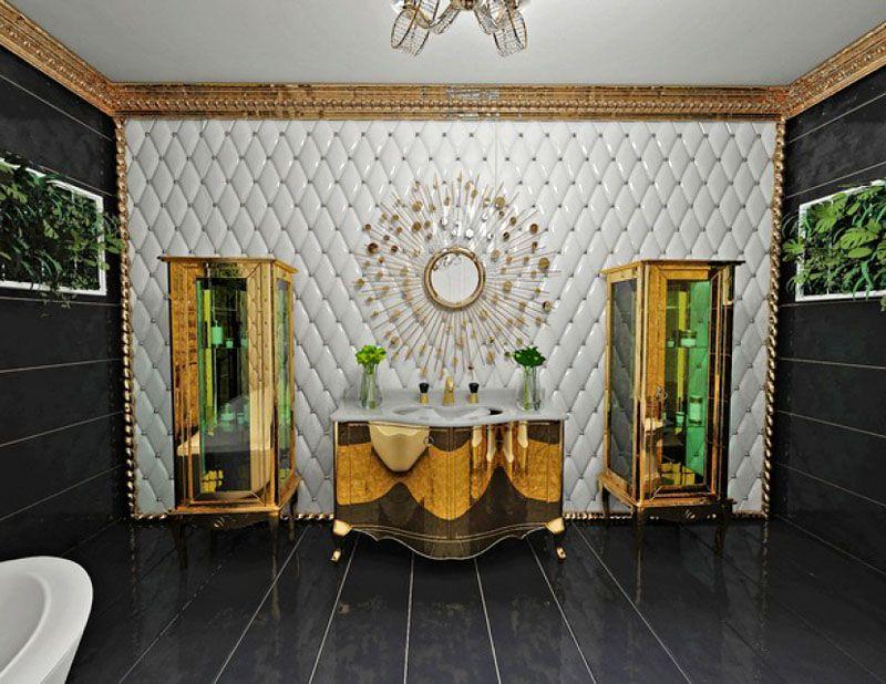 Королевская ванная комната