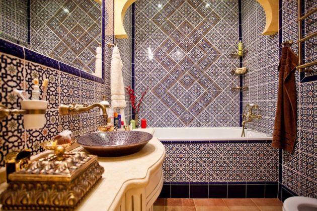 Один из видов средиземноморского стиля – марокканский