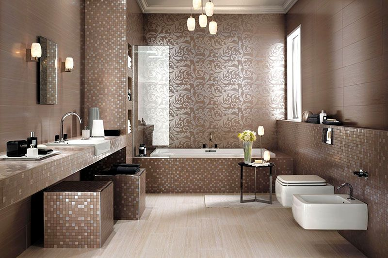 Мозаичная плитка пользуется всё большей популярностью